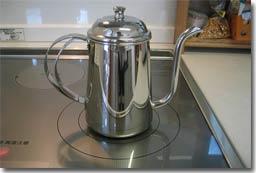コーヒー専用ポット。まずはここから