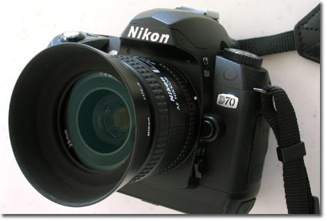 35mmF2Dと。最近,ほとんどズームレンズを使ってないな・・・