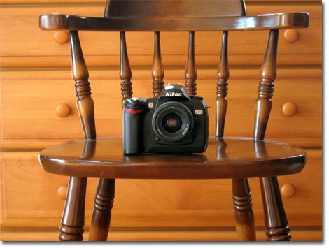 D70も記念に(^^)。撮影カメラがIXYなのは,ハンデではある・・・