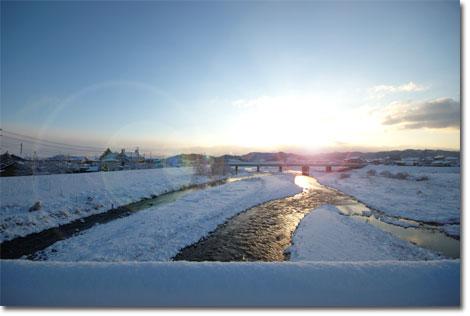 着いたらどっさり雪が降り,本当に楽しいお正月でした  【フォトアルバムはこちら!】