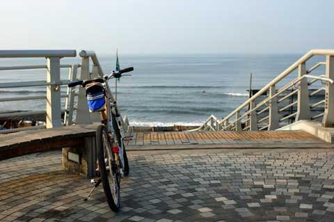 今日のスタートは浜須賀から。珍しく朝から天気がイイナ(^^)