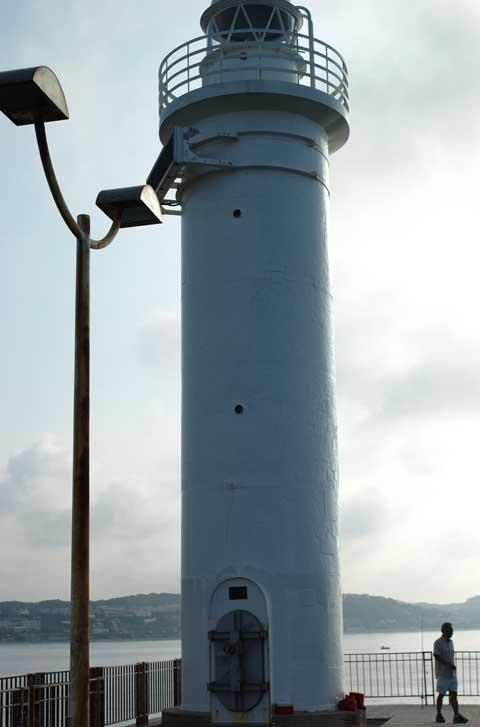 堂ヶ島の灯台。ウソ,江ノ島の灯台です。