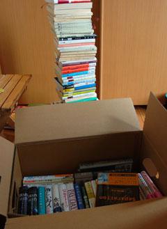 先日,BOOK OFFに旅立っていった本達。でも,またすぐに貯まってしまう・・・。