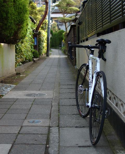 鎌倉にはこんな路地が沢山あります。