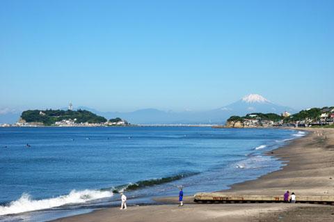 富士山までクリアに見えました。6月では本当に珍しい!