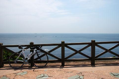 城ヶ島にて。家から45kmほど。とっても気持ちがよいところです。