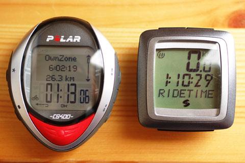 走行時間も1時間で3分も差があったりします(--)