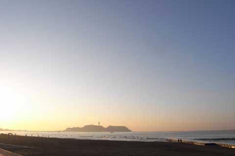 日曜日の朝も澄んだ良い天気でした(^^)