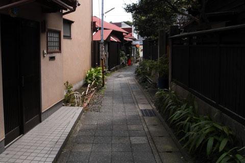 最初は,鎌倉のこんな小道を散歩していたのですが,,,