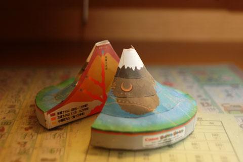 これは,ユウキチさん作の「富士山」。すげぇ~な~
