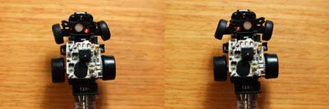 リモコンで操作すると,右,左,右,左・・・,完璧だ(^^)