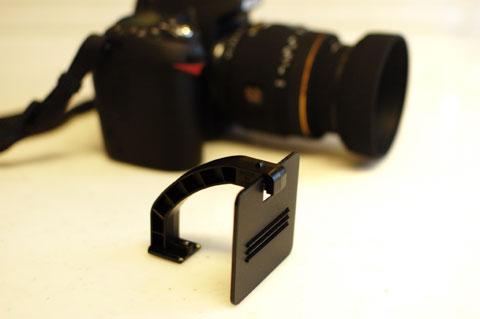 カメラ(D90)の前にある,このヘンテコなパーツはなんでしょう・・・?