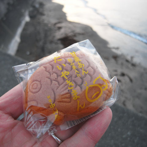 My name is TAIYAKI-MAN. でも,新たな謎が・・・。