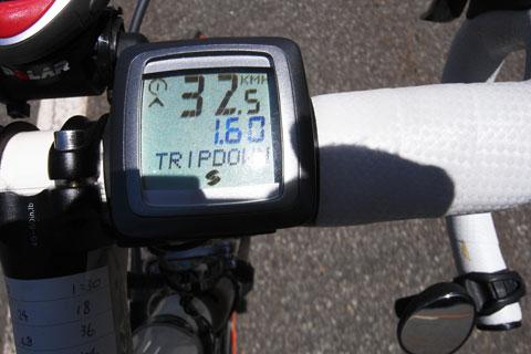 がんばれば,30km/hオーバーで走れます!!