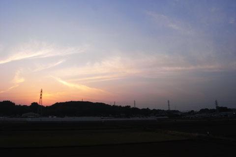 飯田牧場付近。あと少しだ~