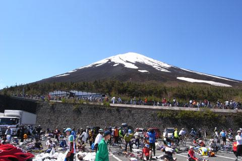 それにしても綺麗な富士山でした。家族も大喜びです。