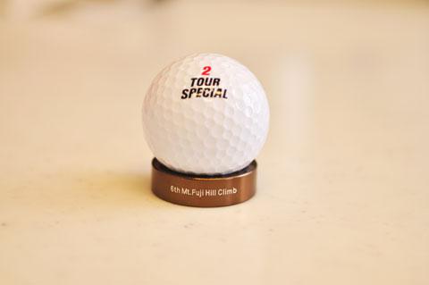 ゴルフボール置き場としても使えます。