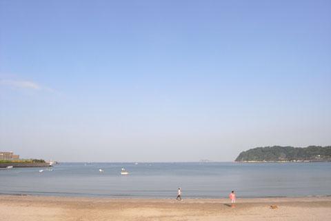 ここまで気の抜けたように,のどかな海岸も珍しいでしょう(^^)