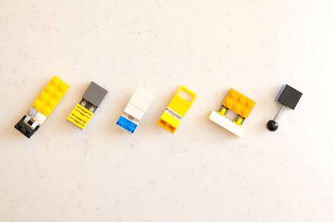 LEGOで作ることになってからも,色々と試行錯誤してみました。