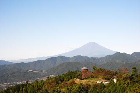 ヒルクライムの楽しさの一つに,「絶景」もあります。いいな~,富士山(^^)