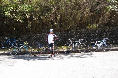 これは10月の写真。Noguさん,ucchannさん,ぶちょーさんの4人で挑戦!