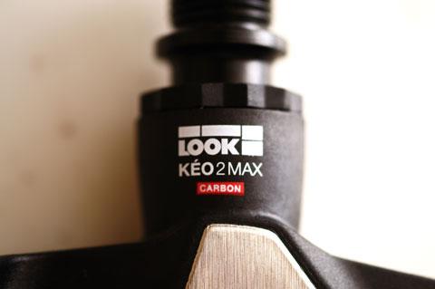 おいらの4代目ビンディングペダルは,KEO2MAXのカーボンモデルになりました。