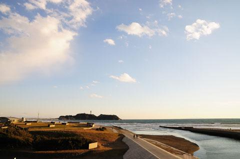 今年のラストランは,やっぱり大好きな片瀬海岸へ 【フォトアルバムはこちら!】
