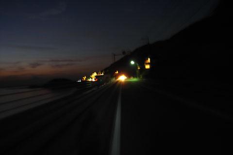 久しぶりに,真っ暗になるまで走り続けていました。楽しかった~♪