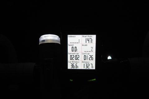 無事我が家に到着~♪ でも,130kmの割には激疲れ・・・。