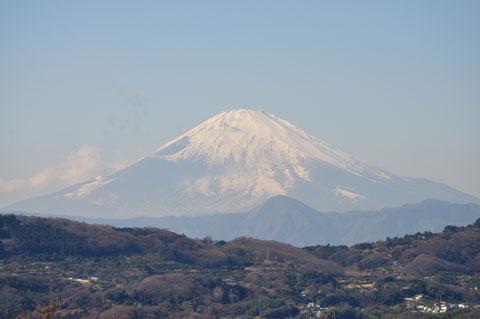 富士山もばっちりです! 今年はFHCで5合目まで登るのだ!(^^)