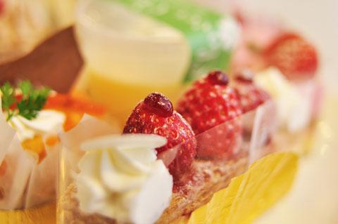 本文とは関係ないけど,ケーキが大好きです(^^) 一年中,食べている(笑)