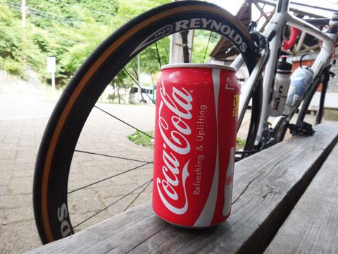 今シーズン最後のおいしいコーラ。9月までオアズケです(^^)