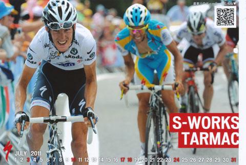 アメリカのCompetitive Cyclingからダイレクトメールが来ました。こういうのが,本当のヒルクライマーなんだろうな(2010年のアンディ?)