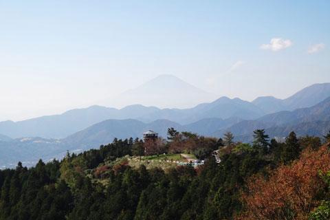 帰り道,富士山に向かってリベンジを誓うのであった。