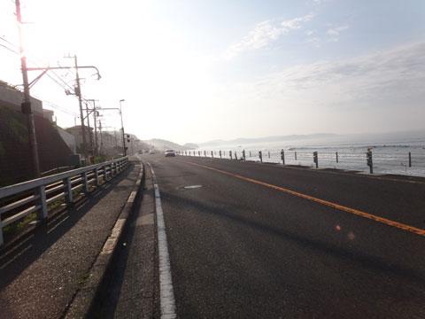 これは往路の写真。復路は写真を撮るまもなく,逆方向に疾走して帰っていきました・・・。