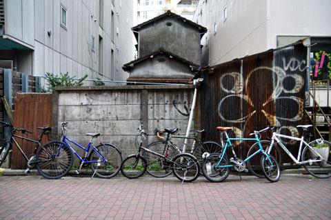 マウンテン,小径車,ロード,シングル。いろんな自転車が集まる,コルナゴな通り@目黒。
