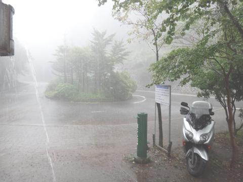 こんなすごい天気の日に,ヤビツアタックに行ってしまいました・・・(^^;)