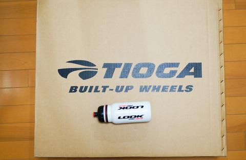 なぜか,TIOGAの箱に入ってきました。いったい,メーカーはどこなんだ!?