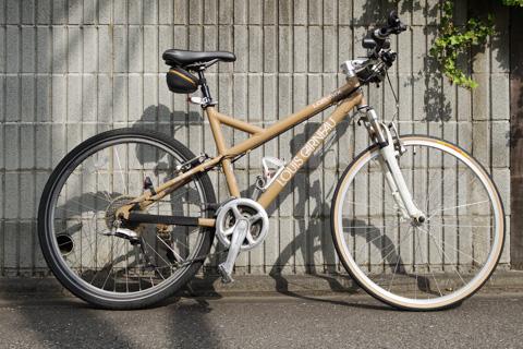 な,なんだぁ? この格好悪い自転車は・・・。