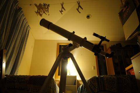 今日のShiro家天文台はオヤスミです・・・。