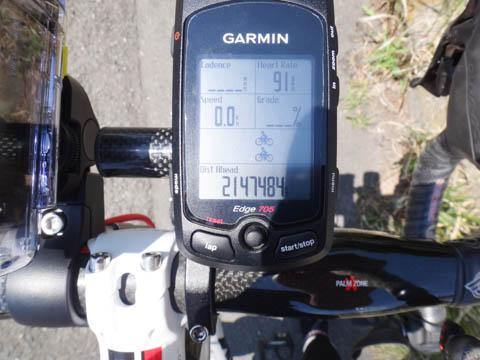 214万kmリードってどんな状態よ。スタート直後に計測終了しちゃいます・・・。