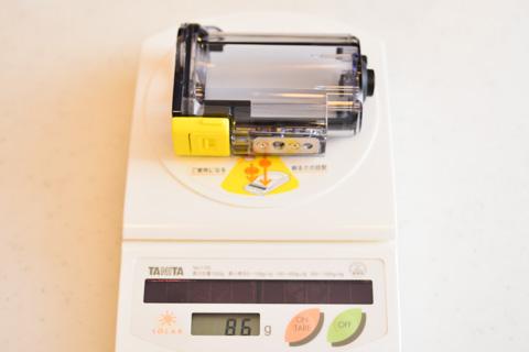 本体とほぼ同じ重量のケースって・・・。