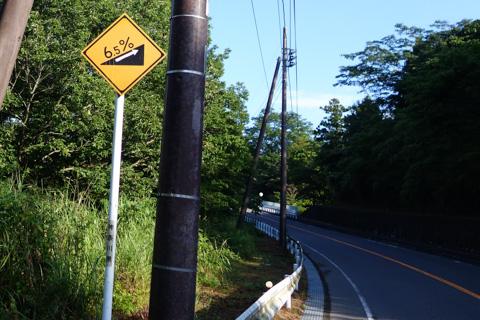 宮ヶ瀬湖周遊道路。6.5%? まだまだイケる!!