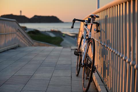レベル5で思いとどまったので,ロードバイクで行くことができました(^^)