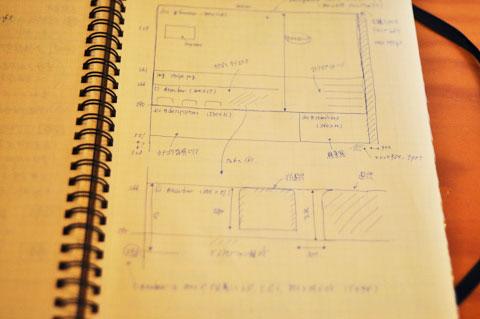 極秘入手した,設計図書の一部。いったいどんな改革が・・・?