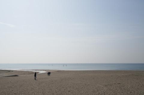 ザ・気の抜けた海岸写真(^^)