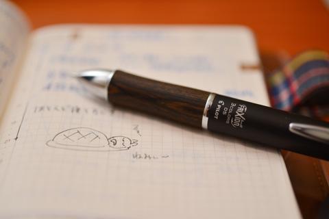 ペンは立派でも,書いてる中身は小学生レベル(笑)