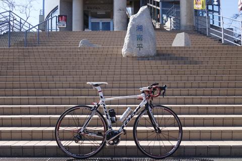 2年ぶりにココにやってきました。自転車も本人もあんまり変わってないけど(^^;)