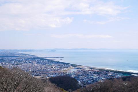 江ノ島~。約20kmで来られる,お手軽湘南平(^^)