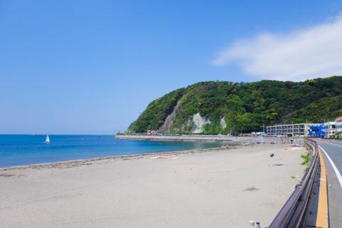 逗子海岸は癒しがあって大好きです。いいんだなぁ・・・。